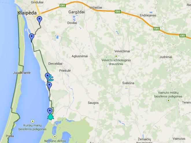 Kintai – Klaipėda (2 dienų žygis, 35km)