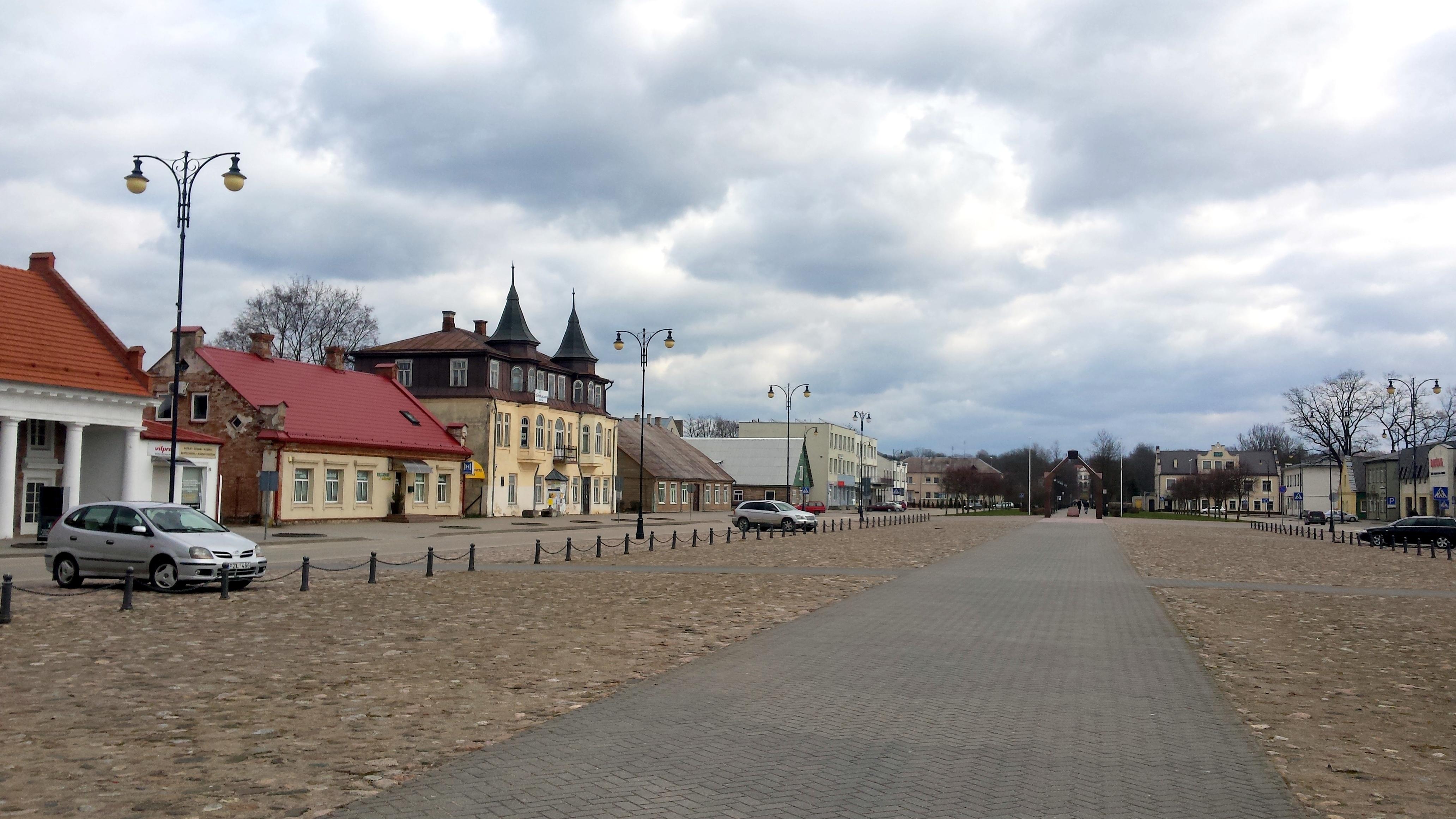 Nepriklausomybės aikštė Rokiškyje