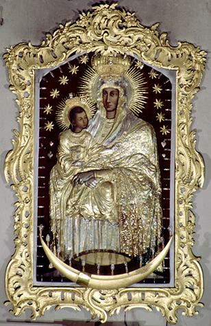Šiluvos bažnyčios Švč. Mergelės paveikslas