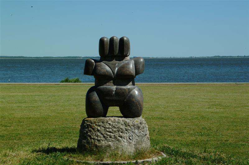 Akmens skulptūrų parkas Juodkrantėje