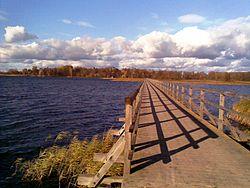 Širvėnos ežero tiltas