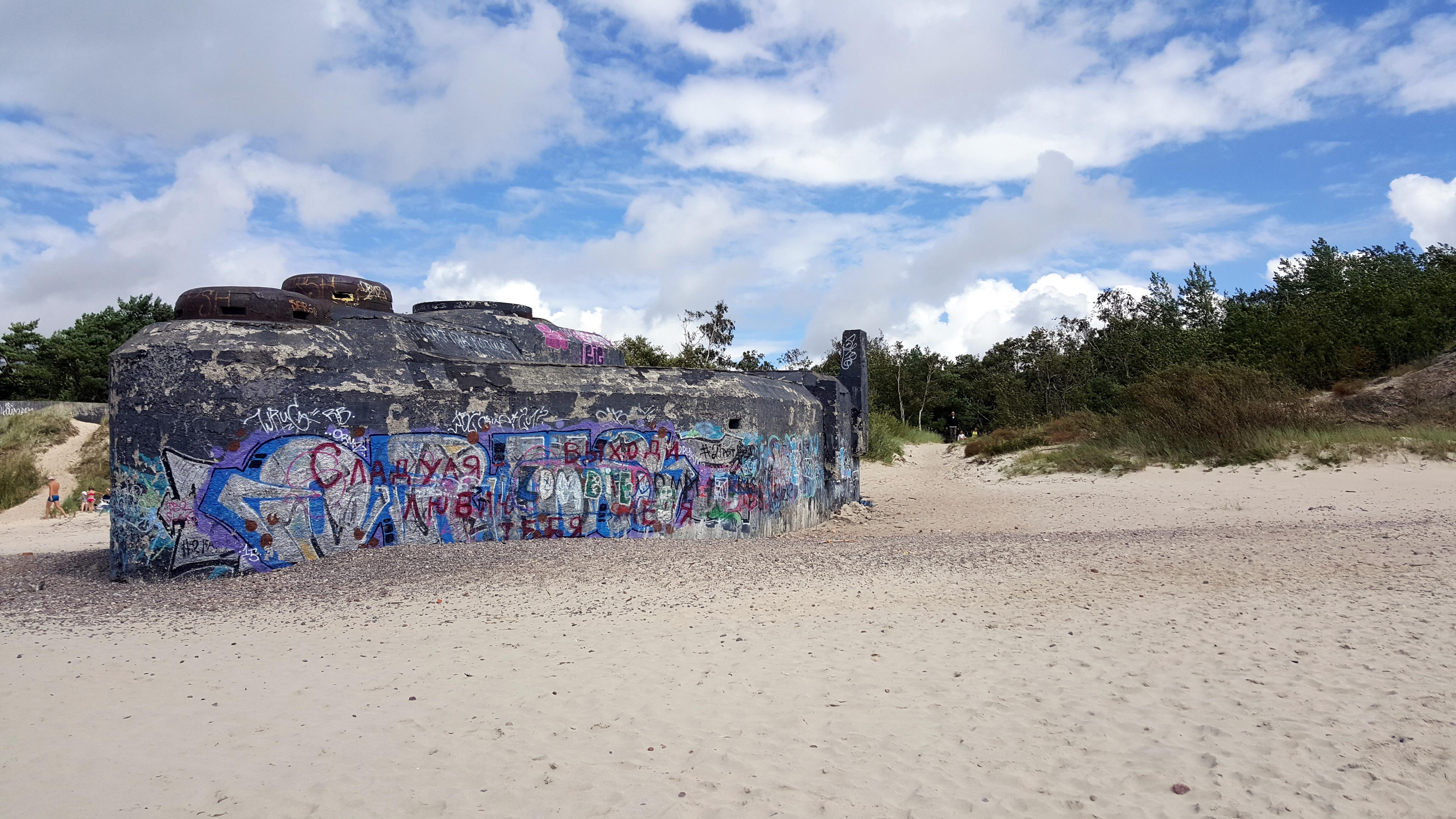 Pakrančių apsaugos baterija bunkeris Klaipėda
