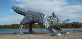 Metalinė lapė Šiauliuose