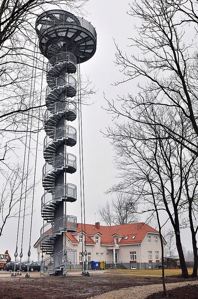 Krekenavos regioninio parko bokštas