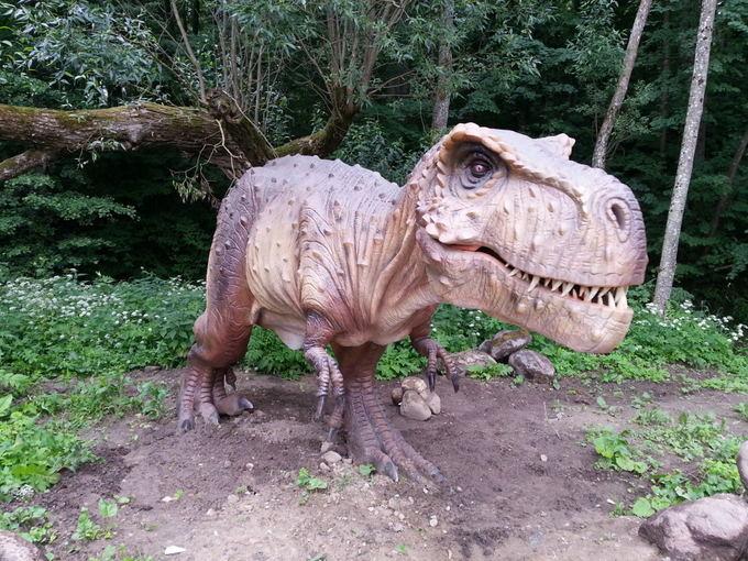 Dinozauru parkas klaipeda
