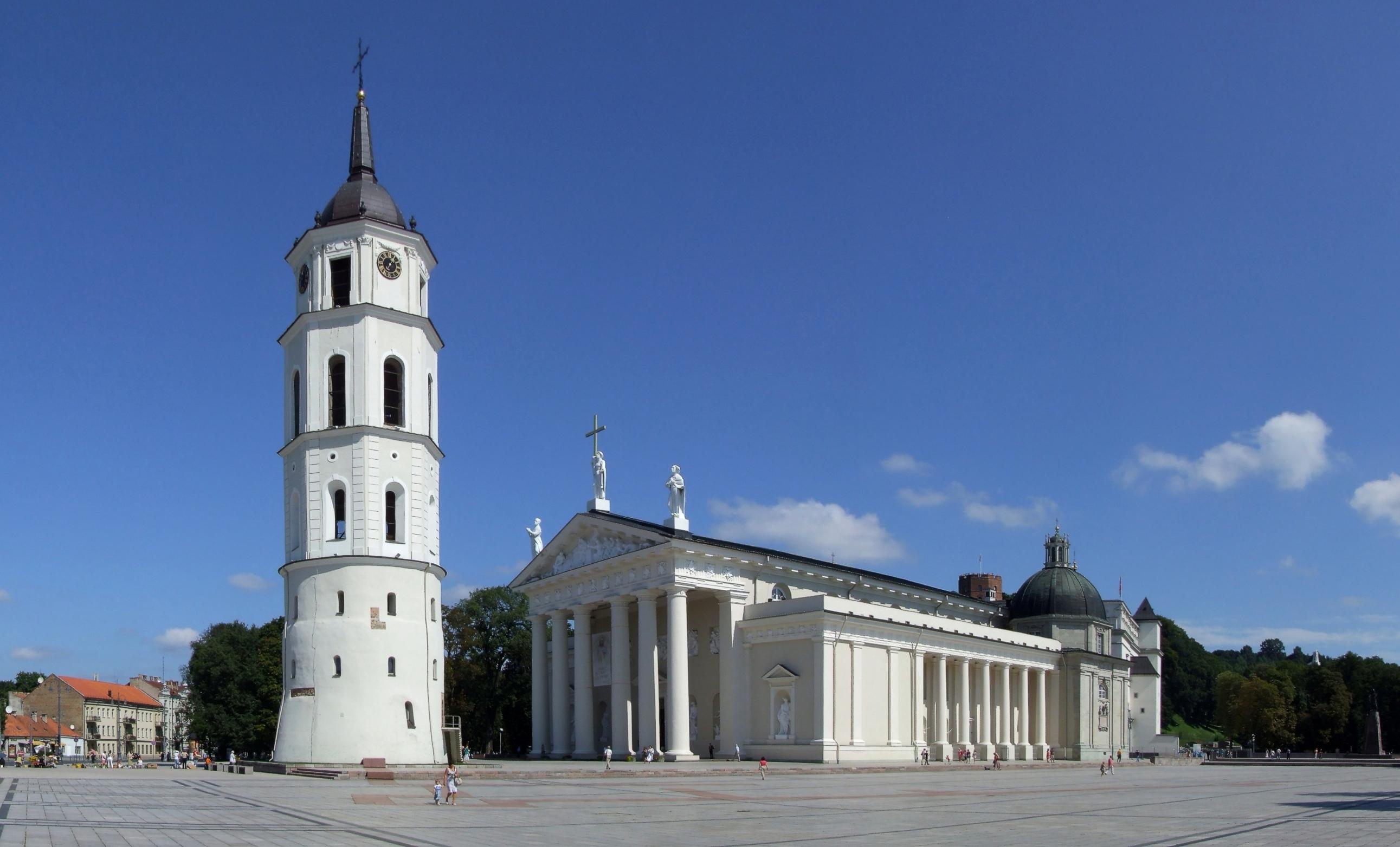 Vilniaus katedros bokštas