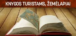 Turistinės knygos, žemėlapiai
