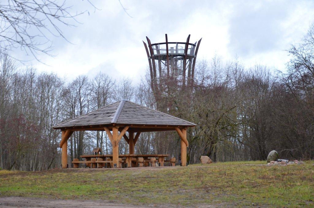 Jurakalnio apžvalgos bokštas Ventos regioniniame parke