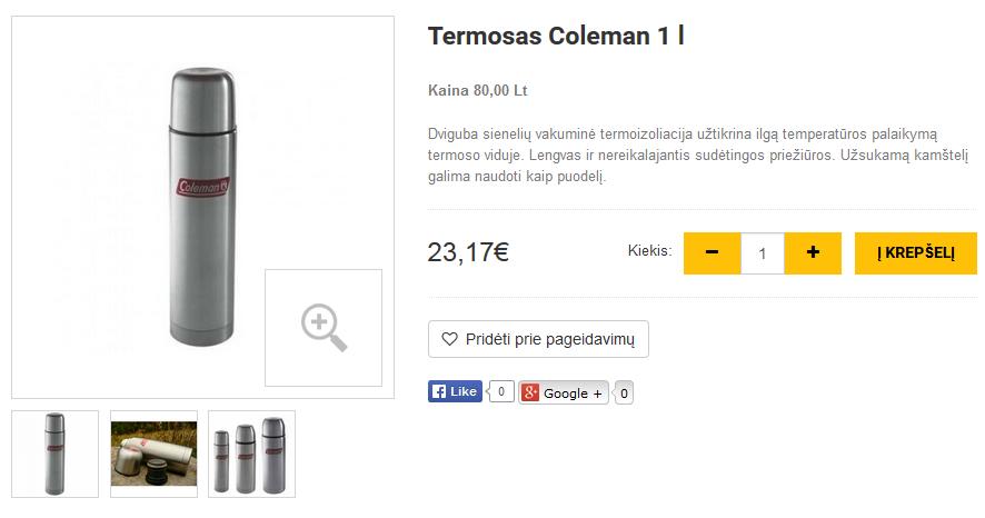 Termosas Coleman