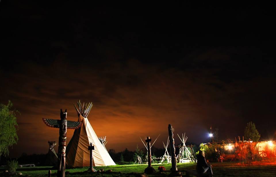 Indėnų kaimas Vinetu