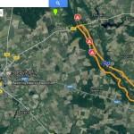 Betygala - Padubysio piliakalnis žemėlapis