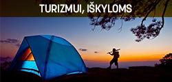 Turizmui, iškyloms www.turistinesprekes.lt