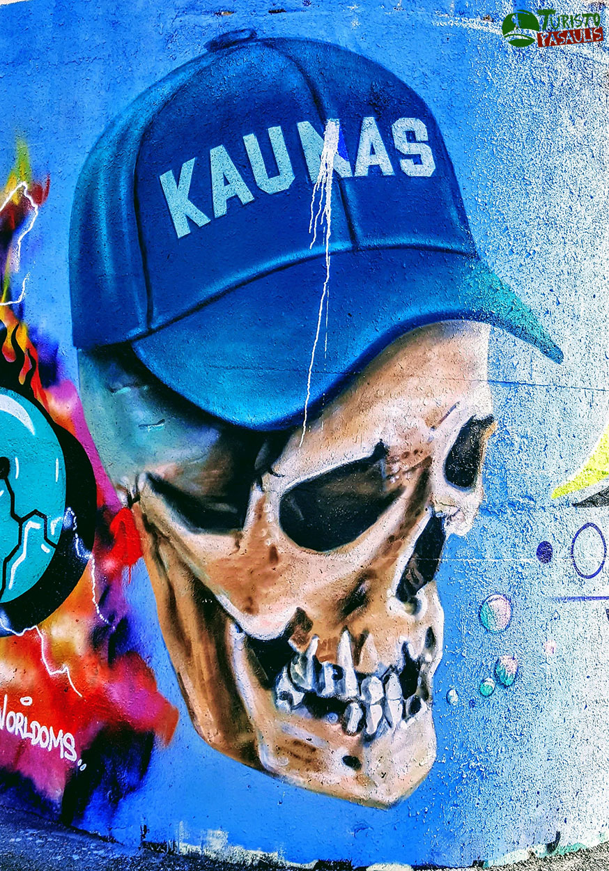 Graffiti Kaunas Krantinės siena 02