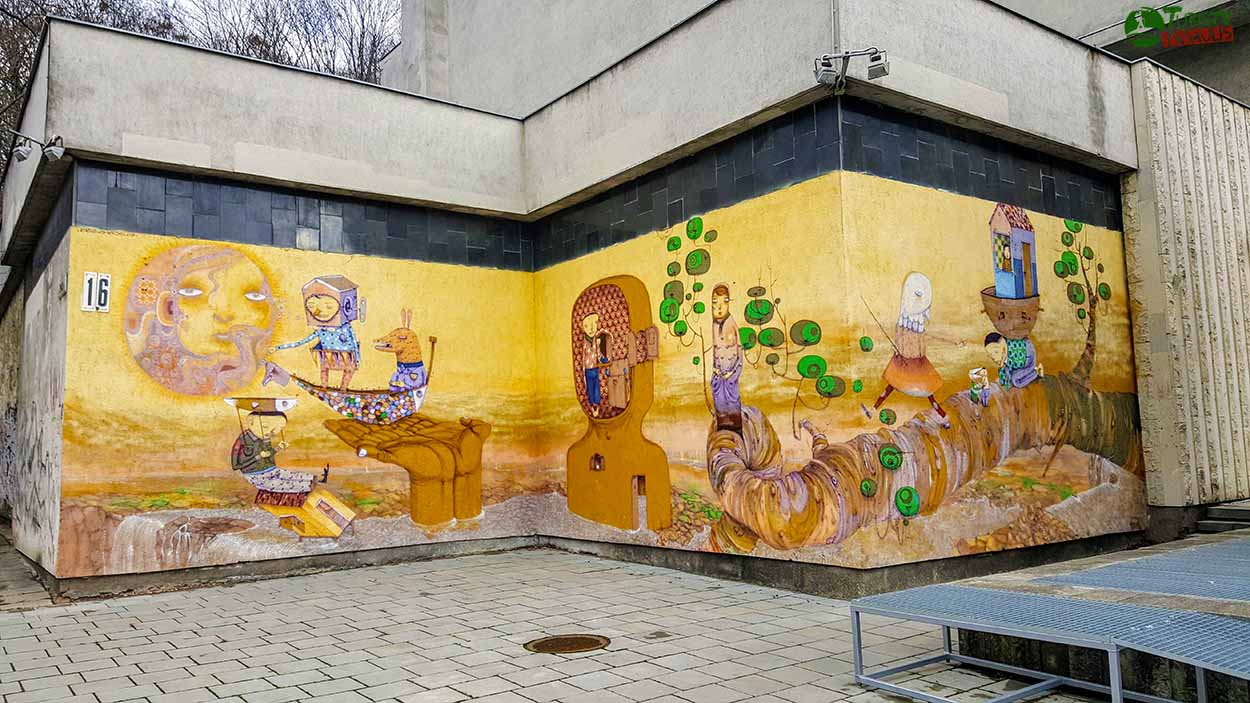 Kaunas graffiti - paveikslų galerija