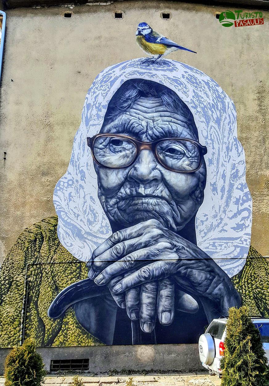 Kaunas graffiti Žiema baigės