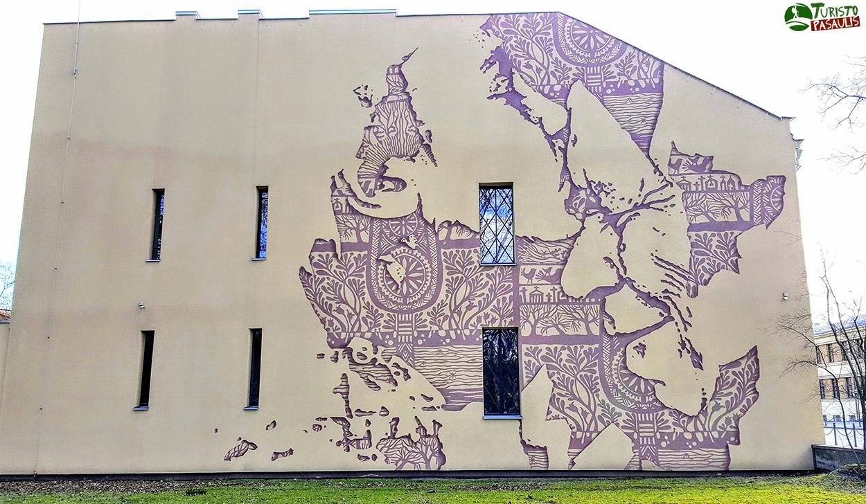 Kaunas graffiti Atsisveikinimas