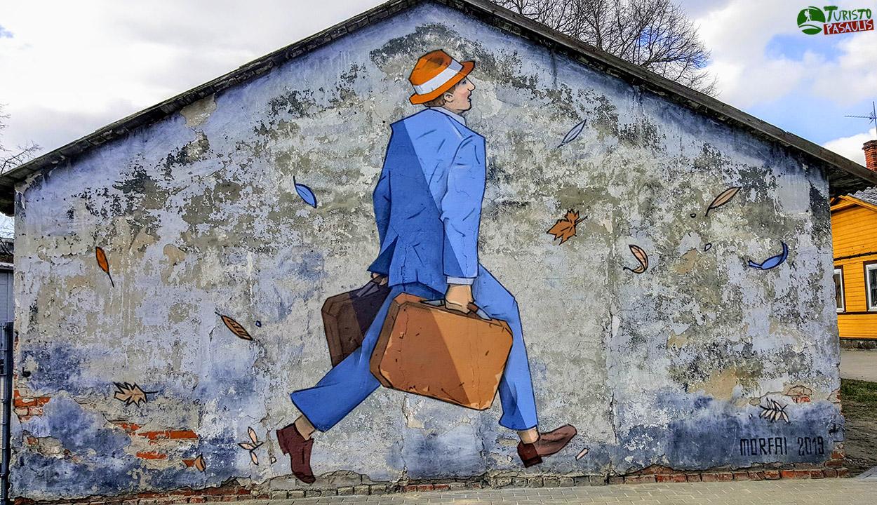 Kaunas graffiti  Paskutinis keleivis
