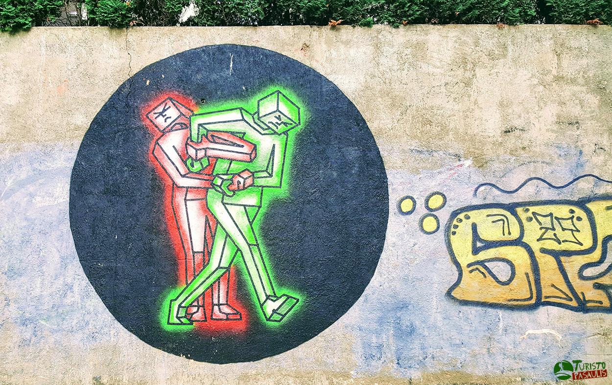 Kaunas graffiti  Dvikova