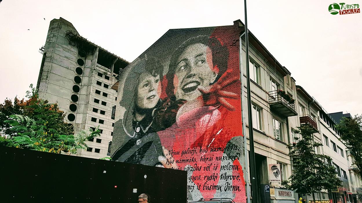 Kaunas graffiti Istorijų pasaulis