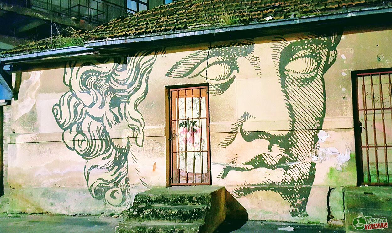 Kauno graffiti Pilies sodas